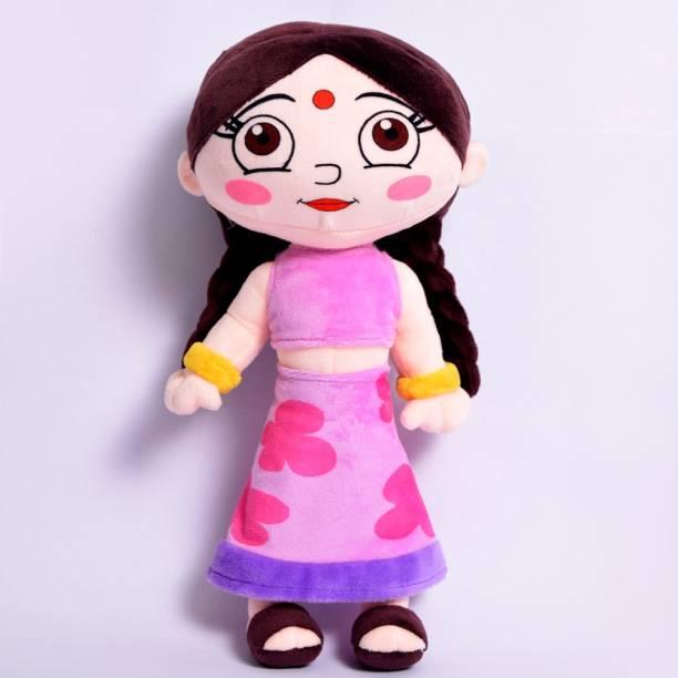 CHHOTA BHEEM Chutki Plush Toy  - 33 cm