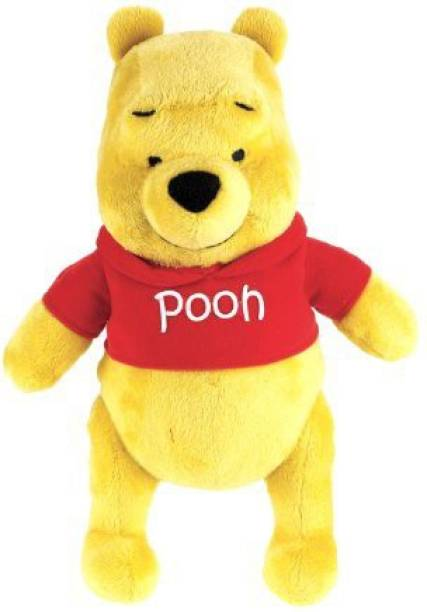 FISHER-PRICE Classic Winnie The Pooh Plush Doll School Bag