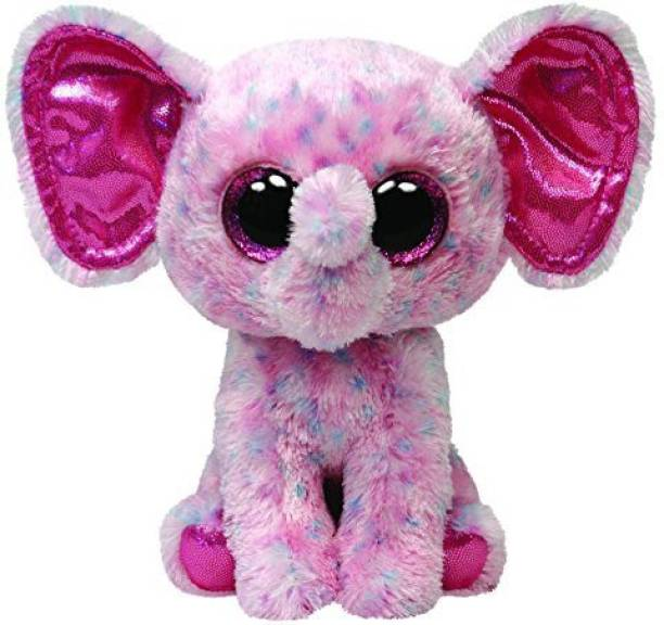 06d0452c636 TY Beanie Babies Ellie Pink Speckled Elephant Medium