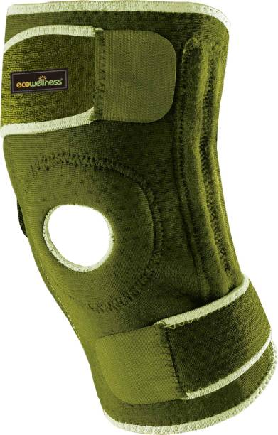 Ecowellness Knee Support Open Patella Reinforced With Terry Cloth