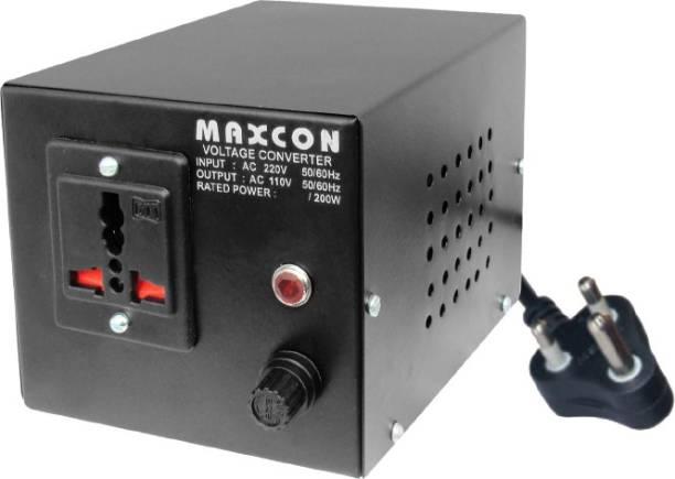 MX Professional Voltage Converter - 500 Watts (220 - 110 V) 1  Socket Extension Boards