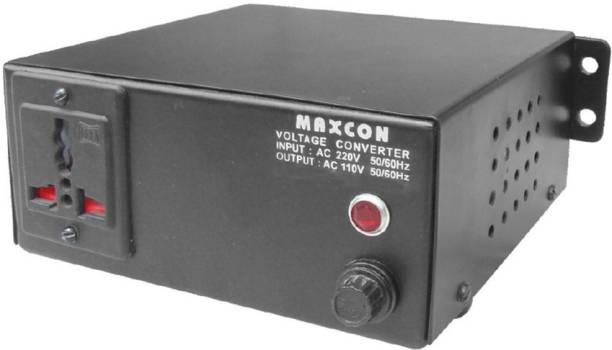 MX Voltage Converter For Electrical Appliances upto 500 Watts- Converts 110 Volts to 220 V 1  Socket Extension Boards