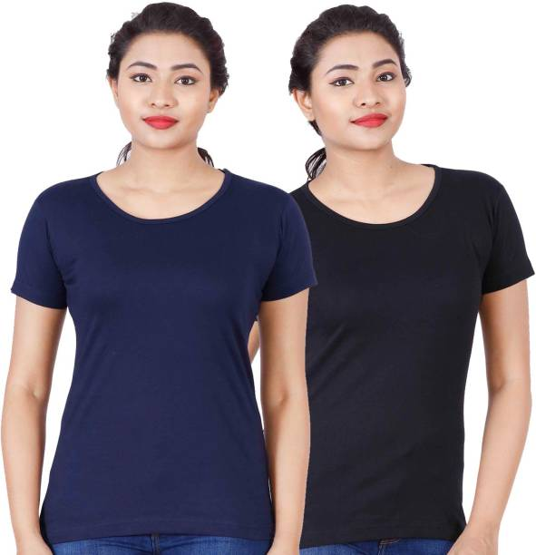 afe81c474 Plain T Shirts - Buy Plain T Shirts online at Best Prices in India ...