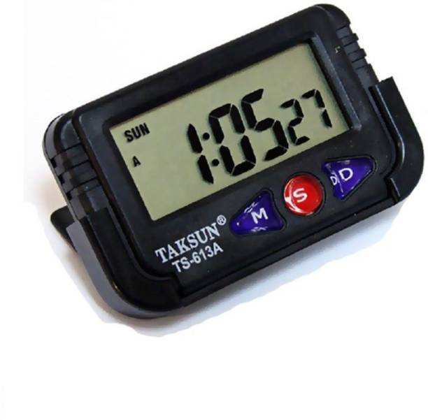 Everything Imported Digital Black Clock