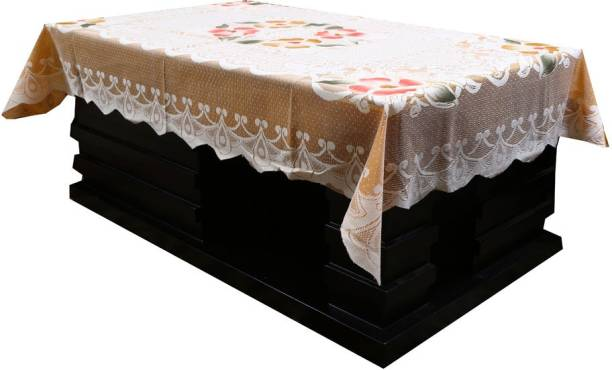 KUBER INDUSTRIES Printed 4 Seater Table Cover