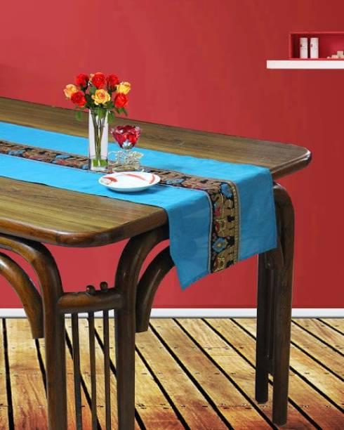 Dekor World Blue 180 cm Table Runner