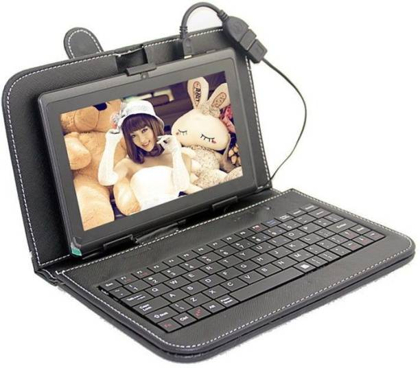 I Kall N5 with Keyboard 16  GB 7 inch with Wi Fi+4G Tablet  Black