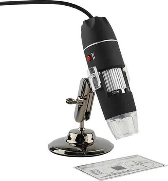 VTECH 50-500X 2MP USB 8 LED Light Digital Microscope Endoscope Camera Magnifier zoom Refracting Telescope