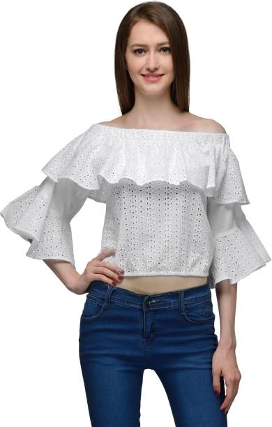 2c22314c7321a Bardot Tops - Buy Bardot Tops Online at Best Prices In India ...