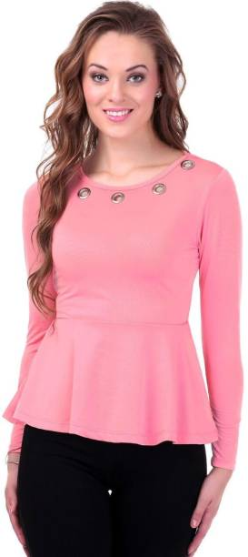 90e80939a66e0b Peplum Top Tops - Buy Peplum Top Tops Online at Best Prices In India ...