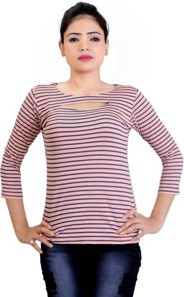 3ed6d179655df Boat Neck Tops - Buy Boat Neck Tops online at Best Prices in India ...