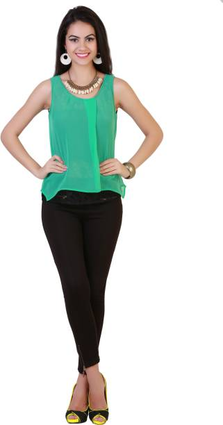 b4940577d2e791 Sleeveless Tops - Buy Sleeveless Tops Online at Best Prices In India ...