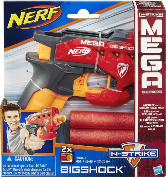 Nerf N-Strike Mega Bigshock Guns & Darts