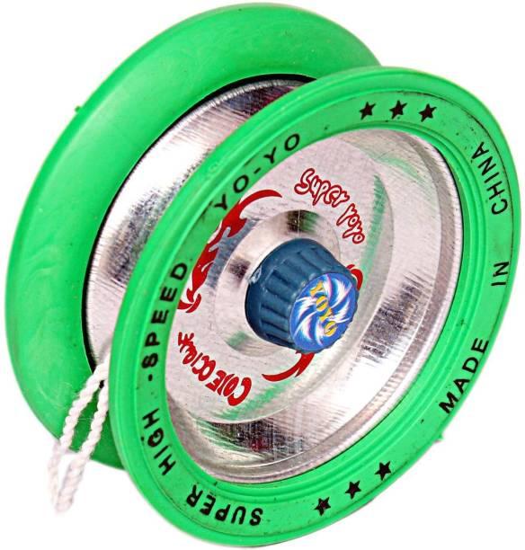 Homeshopeez Thrilling Speed Diecast Metal-GRN Toy Yoyo