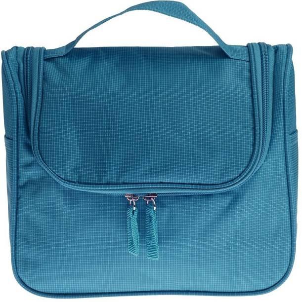 0803979b85 Swadec Waterproof Cosmetic Wash Organizer Hanging Storage Bag - Blue Travel  Toiletry Kit
