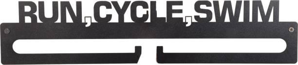 "Fitizen Medal Hanger - Run,Cycle,Swim - 18"" Medal"