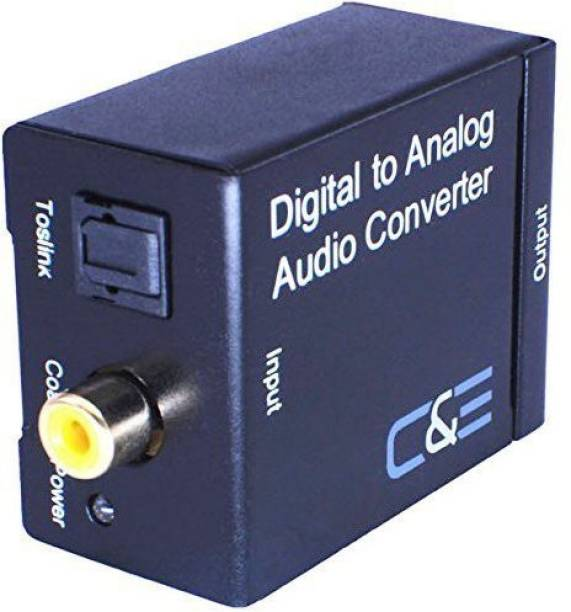 C&E  TV-out Cable Digital to Analog Converter (PETDTA) with boxes