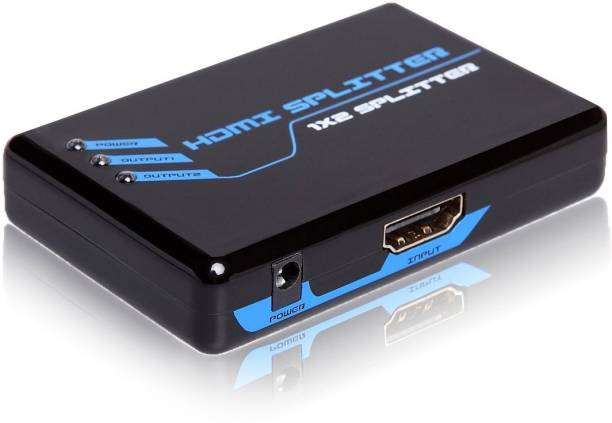 C&E  TV-out Cable HDMI 1x2 3D splitter v1.30 HDCP 2 port swither