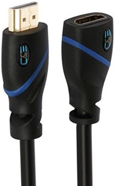 C&E  TV-out Cable 3 Feet Male to Female Supports Ethernet 3D Audio Return
