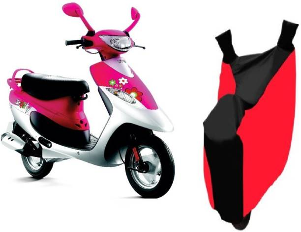 Javatech Two Wheeler Cover for TVS