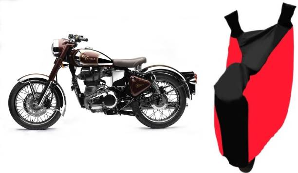 Javatech Two Wheeler Cover for Royal Enfield