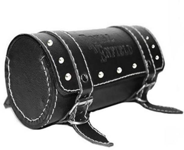 MR Trading One-side Black Leatherette Motorbike Saddlebag