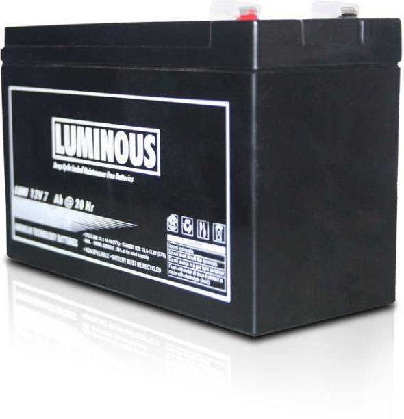LUMINOUS 12V - 7.2 Ah (Battery) Sealed Maintenance Free UPS