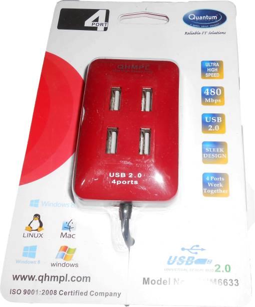 QUANTUM 4 Port QHM6633 USB Hub
