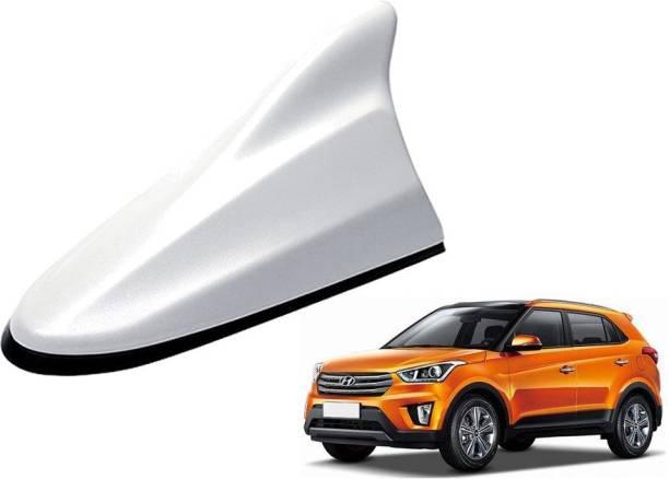 AuTO ADDiCT Premium Make Car White Shark Fin Replacement Signal Receiver AA152 Hyundai Creta Hidden Vehicle Antenna