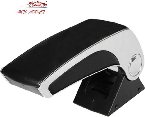 AuTO ADDiCT Plain Chrome Black AA119 Car Armrest