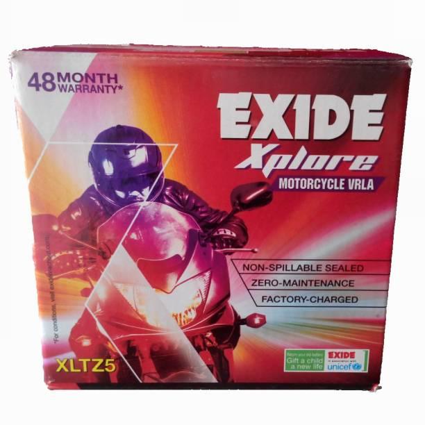 EXIDE Xplore Sealed Fxlo-Xltz5 4 Ah Battery for Bike