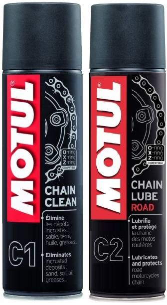 MOTUL C1 C2 Combo Chain Clean & Chain Lube Road Chain Oil Chain Oil