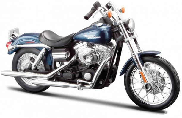 Maisto 2006 Harley Davidson FXDBI Dyna Street Bob - 1:18 Scale Diecast Motorcycle