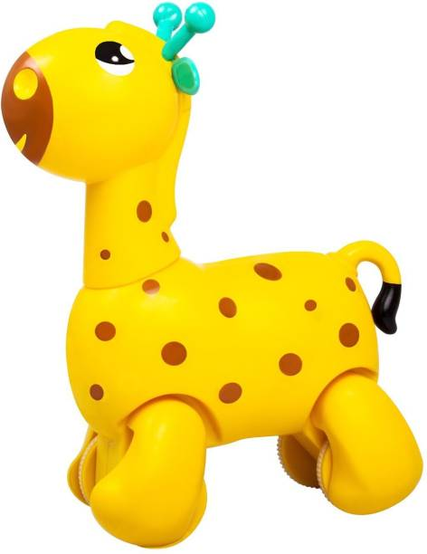 FUNSKOOL Giggles Nico the Giraffe, Yellow
