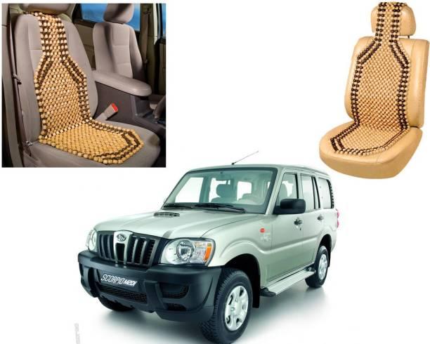 AUTO PEARL Wooden Bead Seating Pad For  Mahindra Scorpio