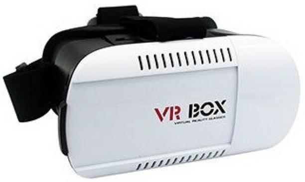 Tech Gear VR Headset 3D Virtual Reality Cardboard With Mini Gamepad Video Glasses