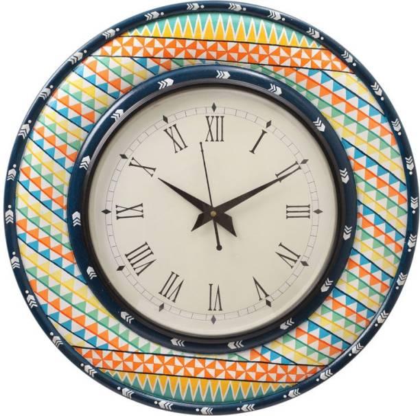 Rang Rage Analog 40 cm X 5 cm Wall Clock