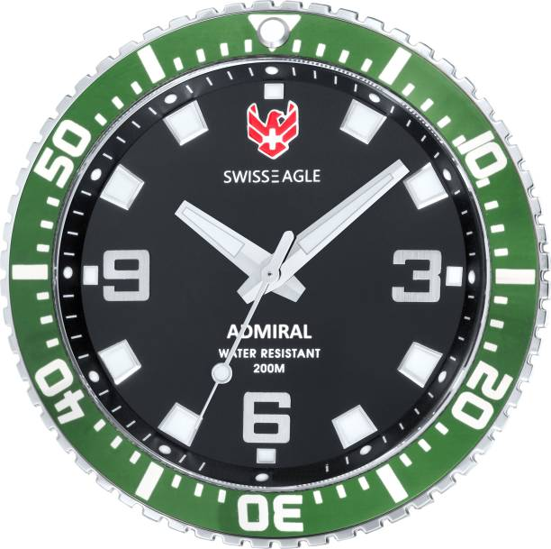 Swiss Eagle Analog Wall Clock