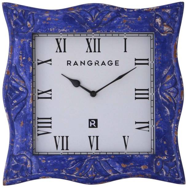 Rang Rage Analog 41 cm X 41 cm Wall Clock