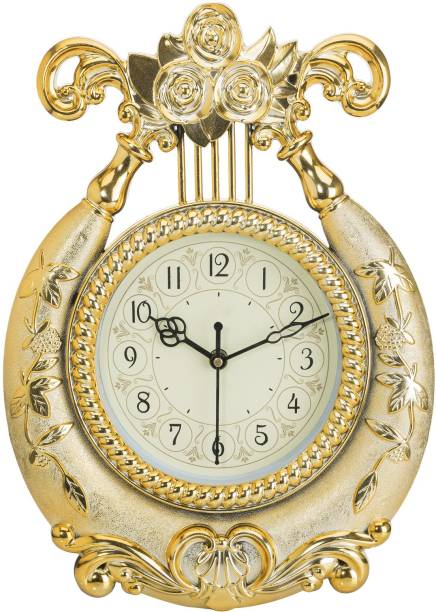 Wallace Yash1551 Golden Designer Wall Clock Clocks - Buy Wallace ...