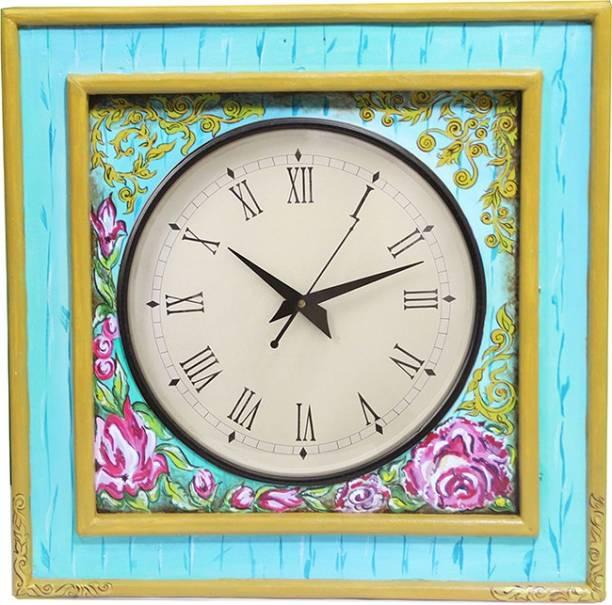 Rang Rage Analog 40 cm X 6 cm Wall Clock