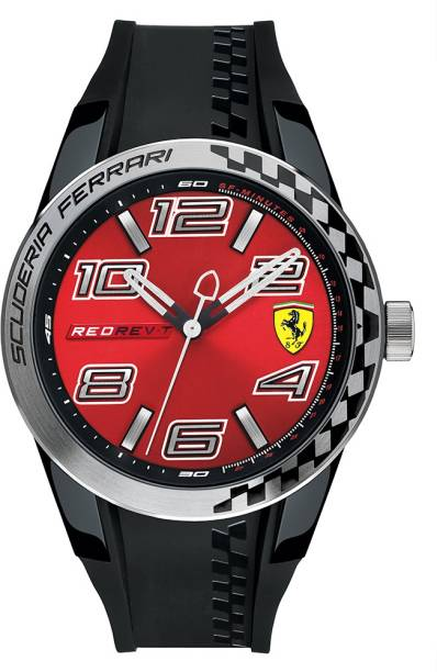 black next scuderia analogue more buy previous men watch by sf watches ferrari