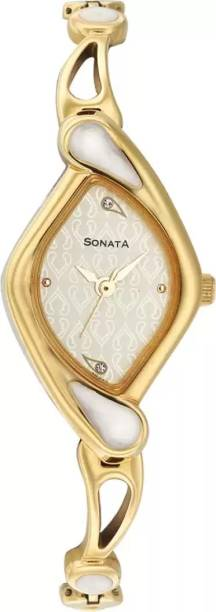 Sonata NG8073YM01C Sona Sitara Watch - For Women