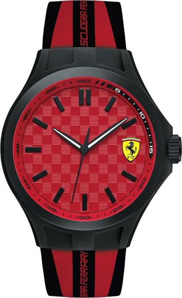 ferrari sf in watches analogue watch scuderia india men buy black online mini