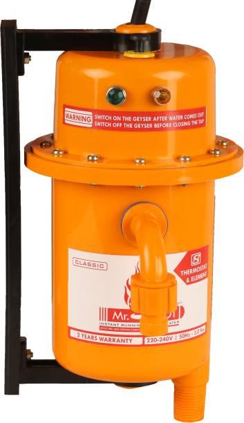 Mr.SHOT 1 L Instant Water Geyser (Classic, Orange)