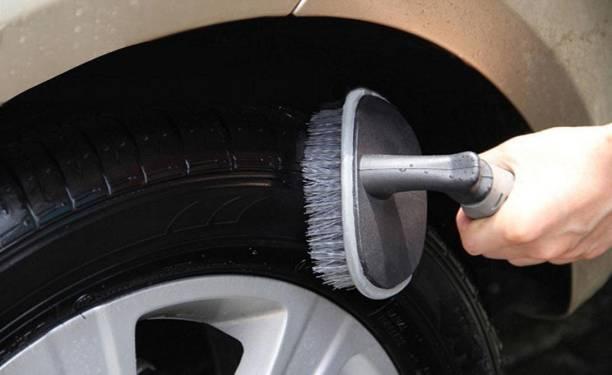 nikavi tyre brush scrub 250 g Wheel Tire Cleaner
