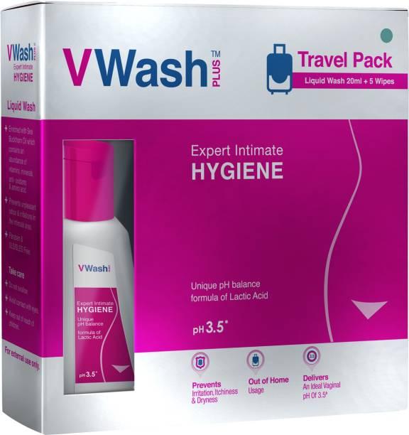 VWash Plus Travel Pack Intimate Wash