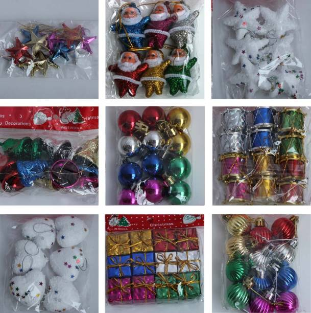 soft rain 152pcsset ornamental bells pack of 99