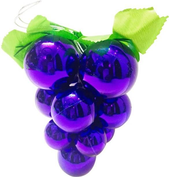 Priyankish Christmas Tree 1 Purple Grape Balls Hanging Ornaments Pack of 1