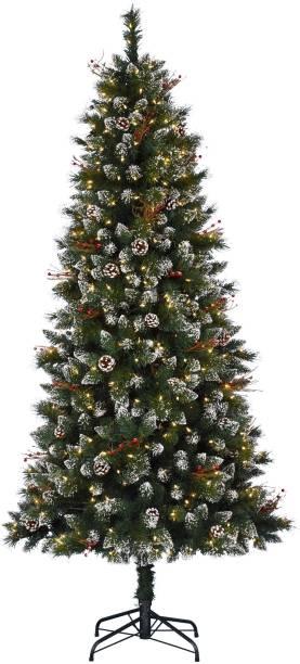 Swandeals Snow Pine Tree Pine 30 cm (0.98 ft) Artificial Christmas Tree